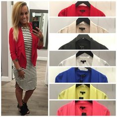 These comfortable, lightweight blazers have been ⓡⓔⓢⓣⓞⓒⓚⓔⓓ in so many NEW COLORS! They can literally be paired with anything and they are ONLY $23!  #restocked #blazer #musthave #apricotlanedesmoines #newarrivals#spring #springfashion #ootd #apricotlane #shoplocal #shopalb #favorite