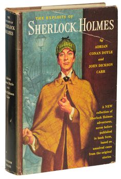 """The Exploits of Sherlock Holmes"" by Adrian Conan Doyle (Sir Arthur's son) and John Dickson Carr is the best collection of true Sherlock stories to be found outside the original canon."