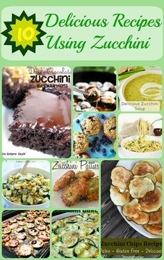 10 Delicious Recipes Using Zucchini --  Everyone thinks of zucchini fries and zucchini bread when they think of uses for zucchini, but what about getting a little bit more creative with a vegetable that is typically abundant in a backyard garden. See 10 suggestions of things you can do with zucchini!