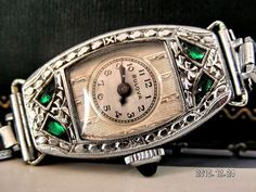 BULOVA GOLD FILLED  ART DECO VINTAGE WATCH--- Gorgeous!!