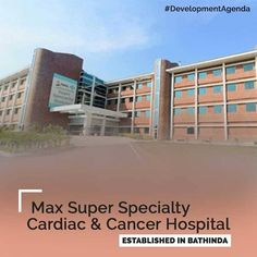 To provide superlative healthcare services, a 200 bedded Super-specialty cardiac and cancer hospital was opened in association with the leading healthcare provider- Max Healthcare. The hospital is designed to deliver the highest level of professional expertise and world-class care. Deployment of ultra-modern technology further adds to its strength and commitment to give its patients the best of health care.