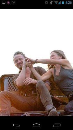 David Lyons & Tracy Spiridakos. Have Mercy! Love them 😊