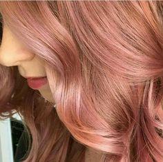 The perfect rose for rose gold hair