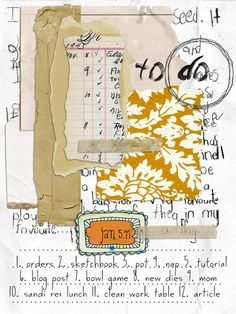 Another Roben Marie page #art #journaling #journals