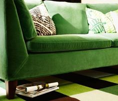 stockholm green sofa ikea - this caught my eye in the latest catalog