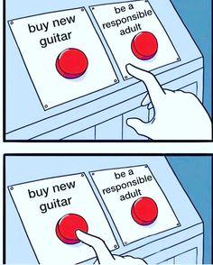 Hmmmmm decisions decisions… #guitar #guitars #electricguitar #newguitar…