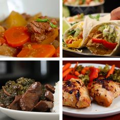 6 Slow Cooker Dinners
