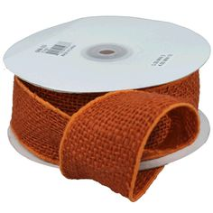 Make a decor statement with our elegant orange burlap wired ribbon. Consider decorating your burlap with our beautiful selection of lace ribbon