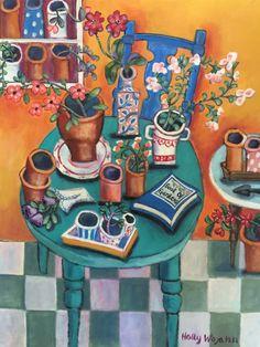 Holly Wojahn - The Cheery Garden Room.