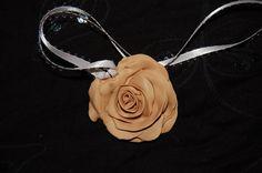 OOAK beige Fairyrose pendant by jamiebishop3 on Etsy, $15.00