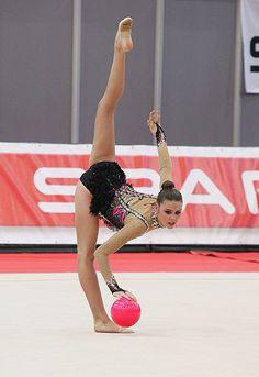 Grand Prix Rhythmic Gymnastics in Austria (Hard) 2012. Alexandra Merkulova.