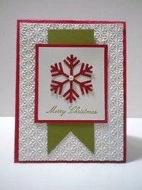 Simple Christmas Card Idea