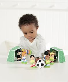 Happyland Football Set : Happyland Football Set : Early Learning Centre UK Toy Shop