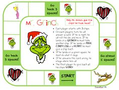 Today was GRINCH DAY! And believe it or not it was a fun-filled day of learning. For the past several years, I've really felt like a 'grinch. Grinch Christmas Party, Grinch Party, Christmas Books, Kids Christmas, Christmas Themes, Holiday Fun, Christmas Crafts, Xmas, Christmas Carol