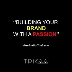 """"""" Building Your Brand With A Passion. Build Your Brand, Competitor Analysis, Passion, Building, Amazing, Inspiration, Biblical Inspiration, Buildings, Construction"""