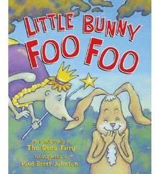 Little Bunny Foo Foo / Hoppin' through the forest / Scoopin' up the field mice / And boppin' 'em on the head.... This kid pleasing, sing-along song is now a hilarious book.