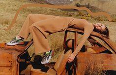 Harley Weir Shoots Stella McCartney Fall 2017 Campaign At Landfill In Eastern Scotland — Anne of Carversville Slow Fashion, Ethical Fashion, Fashion News, High Fashion, Winter Fashion, Stella Mccartney, Zara, Celine, Miu Miu