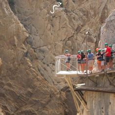 Glass Viewing Platform on the Caminito del Rey