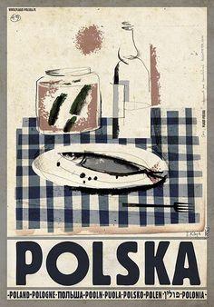 Zdjęcie numer 2 w galerii - Mówi, że kocha Polskę taką, jaka jest. I pokazuje to na świetnych plakatach [ZDJĘCIA]