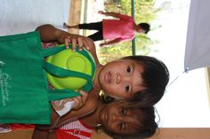 The children who are enroled in the Jessica's Table program recieve educational support, and nutritional support!
