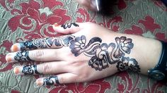 Designer Mehndi Design Video Tutorial | Mehndi Designs for hands|Stylish...