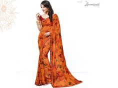 Explore this Amazing Orange Georgette Saree with Maroon Fancy Printed Blouse along with Rawsilk Printed Lace Border from Laxmipati.com. #Catalogue #SURPREET  Price - Rs. 1331.00 #Sarees #‎ReadyToWear ‪#‎OccasionWear ‪#‎Ethnicwear ‪#‎FestivalSarees ‪#‎Fashion ‪#‎Fashionista ‪#‎Couture ‪#‎LaxmipatiSaree ‪#‎Autumn ‪#‎Winter ‪#‎Women ‪#‎Her ‪#‎She ‪#‎Mystery ‪#‎Lingerie ‪#‎Black ‪#‎Lifestyle ‪#‎Life ‪#‎ColoursOfIndia ‪#‎HappyBride ‪#‎WhoYouAre ‪#‎WomanPow