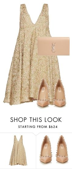 """""""Weddings"""" by bwitney ❤ liked on Polyvore featuring Sandra Mansour, Valentino and Yves Saint Laurent"""