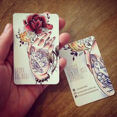 Tattoo artist business cards arts arts we love these great tattoo business cards for mickeydeetattoos colourmoves