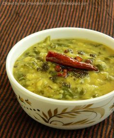 Indian Cuisine: Moong & Spinach Dal Recipe