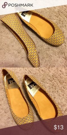 Cute BC rebel flats Get some essentials in your wardrobe with this super cute flat. Size 7, fabric upper BC Footwear Shoes Flats & Loafers