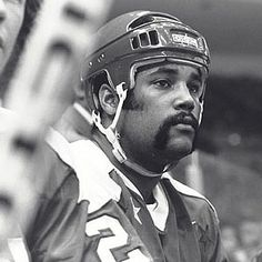 Oct. 9, 1974: Mike Marson, nineteen, debuts with the Washington Capitols of the National Hockey League. He is the NHL's second black player after Willie O'Ree, who debuted in 1958.