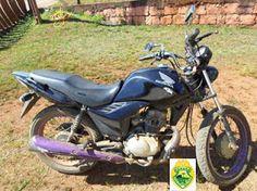 BLOG DO MARKINHOS: Polícia Militar de Turvo recupera moto furtada em ...