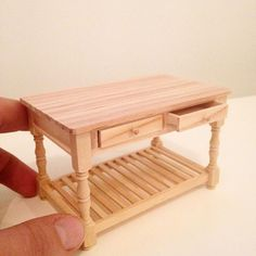 Mini work bench - 1:12 scale