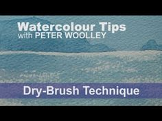 In this demonstration, Peter shows how DRY-BRUSH can be used to create a sparkle effect on water and peeling bark on trees. For a full tutorial on painting w...