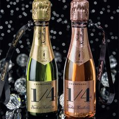 Under-$25 Gift Ideas: Nicolas Feuillatte One Fo(u)r Bottle of Rose, $20; Nicolas-Feuillate.com