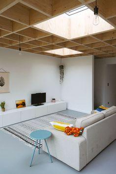 PVK Kessel-Lo - Gelijkvloerse uitbreiding van een rijwoning door OFFICEU architects for urbanity