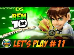 Ben 10 Protector of Earth NDS Lets Play #11 - Plunter Base