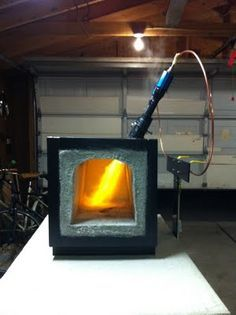 Home Made propane forge.