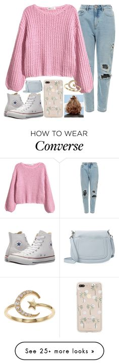 """""""Untitled #2262"""" by tokyoghoul1 on Polyvore featuring Converse, Sonix, LC Lauren Conrad and Marc Jacobs"""