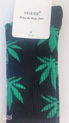 bc672cafba9d Brand New Crew Socks Weed Leaf Marijuana Cannabis Socks Pick Your Color!   fashion