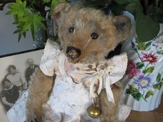~ Leonus-A Centre Seam early antique Steiff Teddy Bear ~  myoldteddybear.co.uk