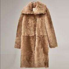 Zara Jackets & Blazers - Natural fur coat 100% lamb furskin Zara