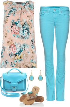 """Pretty top"" by musicfriend1 ❤ liked on Polyvore"