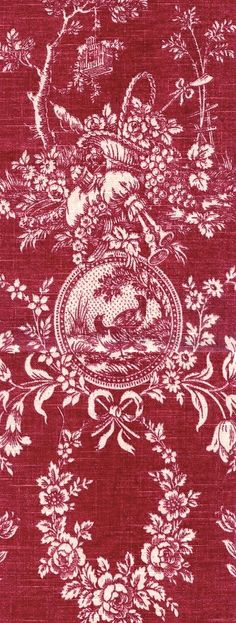 French linen toile