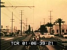 documentary footage of the very last Red Car to ride from downtown L.A. to Long Beach. Shot in April 1961