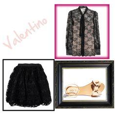 """Valentino #1"" by augustalove on Polyvore"