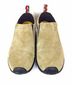 Merrell Shoes Suede Beige Comfort Athletic Jungle Casual Loafers Mens 11 M   eBay