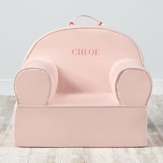 Personalized Executive Nod Chair Lt Pink