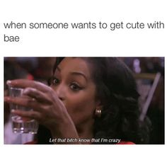 When someone wants to be cute with bae Funny Relatable Quotes, Funny Tweets, Funny Jokes, Hilarious, Fact Quotes, Mood Quotes, Girl Quotes, Attitude Quotes, True Quotes