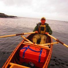 Adjustable Rowing Rig in Action